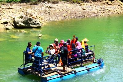 Otw air terjun Sri Getuk